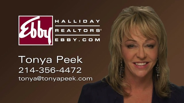 Frisco Ebby Real Estate Agent Tonya Peek