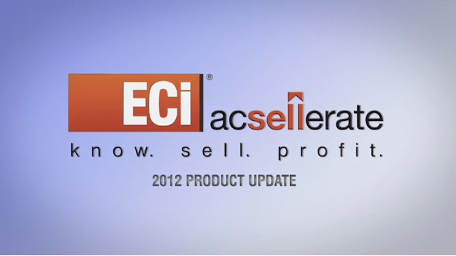 ECi AcSellerate | Product Update