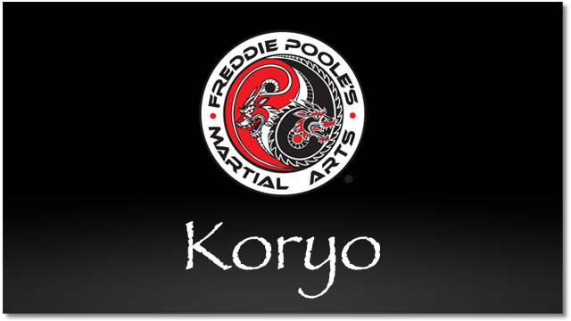 Koryo Video | Forms | Freddie Poole Martial Arts